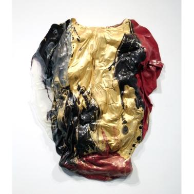 Medium: Latex Enamel Paint and Expanding Foam on Canvas Dimension: 29'' x 21'' x 3 Year: 2015